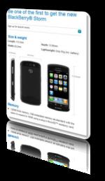 BlackBerry Storm ή iPhone ?