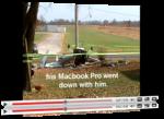 MacBook Pro συνεχίζει να δουλεύει μετά από συντριβή αεροσκάφους.
