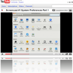 Screencast – System Preferences Part 1