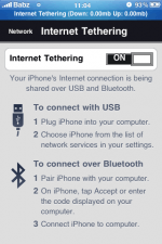 Free tethering on Vodafone is back? (update)