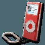 iPod Nano Crystal Clear Carabinet Case