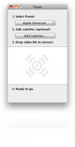 Tegan: Μετατρέψτε τα video σας εύκολα