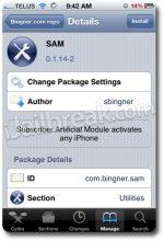 Ξεκλειδώστε το iPhone σας με το SAM