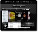 Crystal Black For iTunes, μαυρίστε το iTunes σας